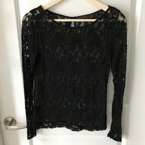 NWOT The Limited Lace Blouse Small